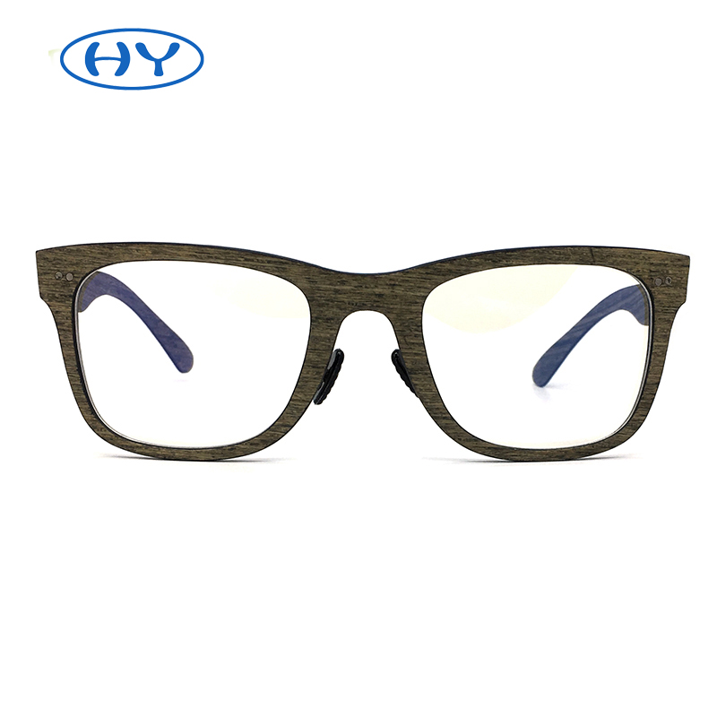 New Fashion Optical Frames Carbon Firber Glasses Square Men Polarized Eyewear