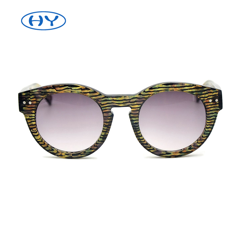 China Factory Sunglasses Polarized with Stripes