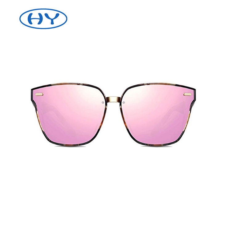 Oversized Sun Glasses for Men or Women 100% UV Blocking Fashion Frame