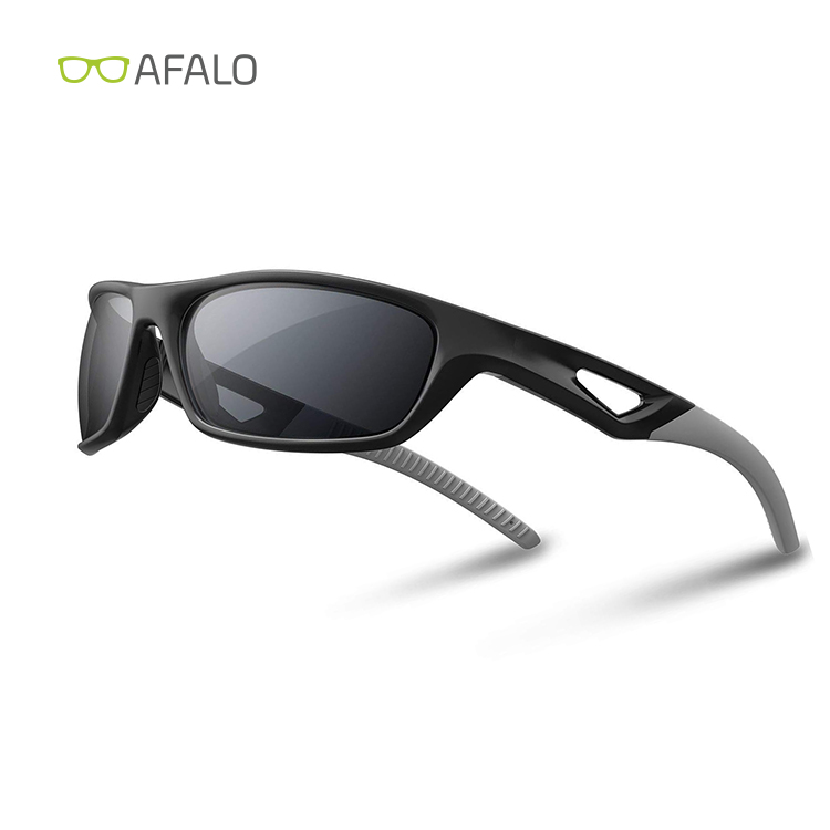 Polarized Driving Glasses for Men Women Sports Sunglasses Unbreakable Frame for Cycling Baseball Running