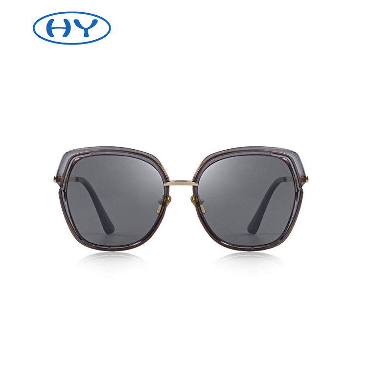 Vintage Oversized Women's Polarized Shield Frame Sunglasses Fashion Sunglasses