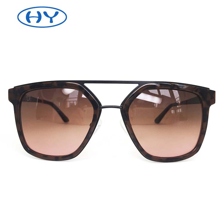 High Density Fully Hand Made Pilot Style Polarized Sunglasses